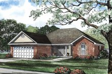 House Plan Design - Contemporary Exterior - Front Elevation Plan #17-2891