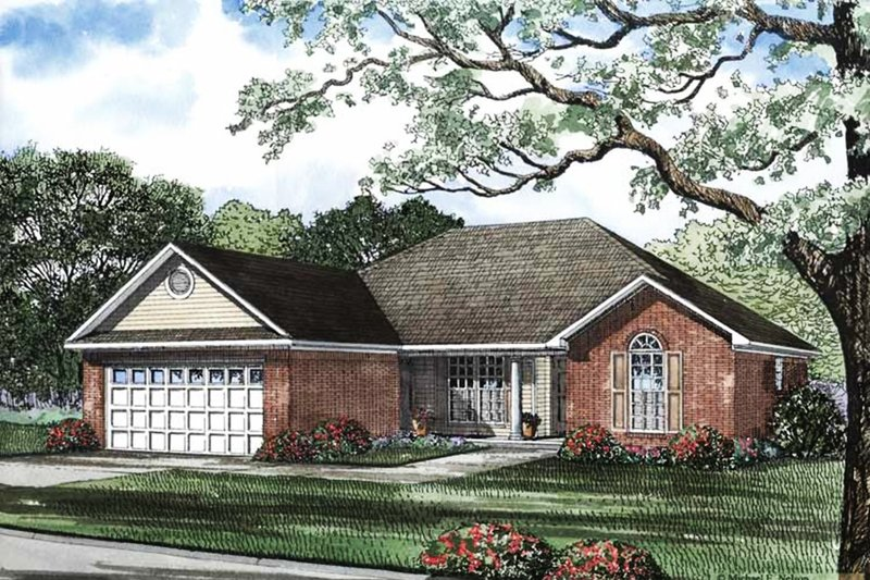 Contemporary Exterior - Front Elevation Plan #17-2891