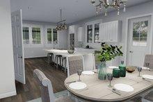 Dream House Plan - European Interior - Dining Room Plan #1060-75