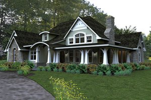 Craftsman style home by Texas architect David Wiggins - 2200 sft
