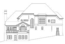 Dream House Plan - European Exterior - Rear Elevation Plan #119-247