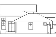 Ranch Exterior - Other Elevation Plan #124-218
