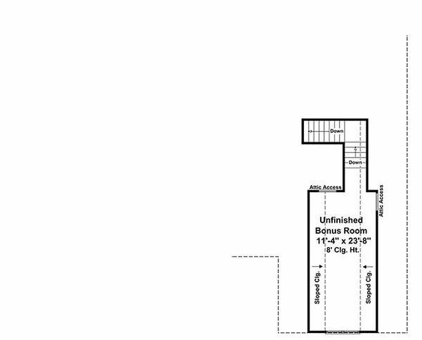 Craftsman Floor Plan - Other Floor Plan Plan #21-247