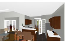 Farmhouse Interior - Kitchen Plan #126-187