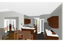 Dream House Plan - Farmhouse Interior - Kitchen Plan #126-187