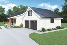 House Plan Design - Farmhouse Exterior - Other Elevation Plan #1070-140