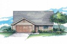 Home Plan - Craftsman Exterior - Front Elevation Plan #53-592