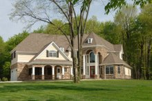 Dream House Plan - Traditional Exterior - Front Elevation Plan #119-234