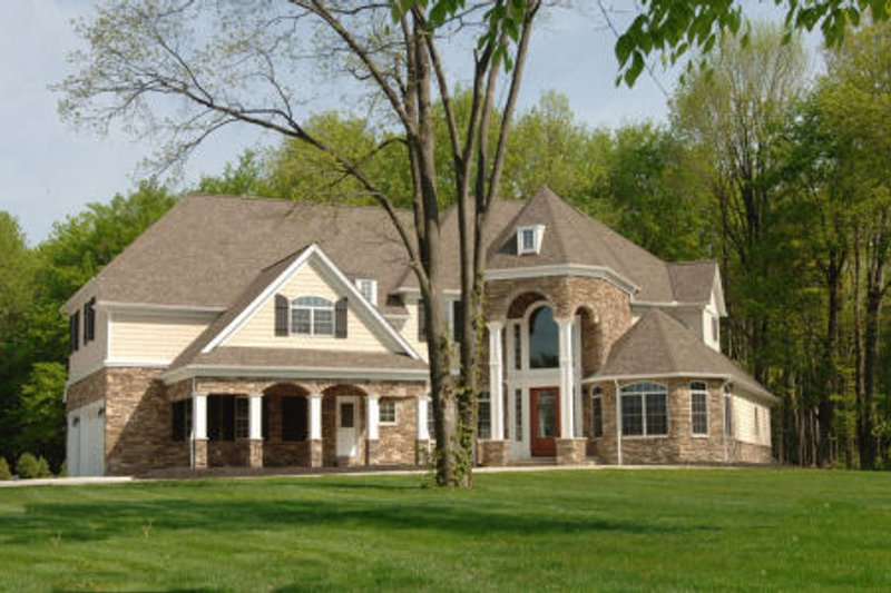 Home Plan - Traditional Exterior - Front Elevation Plan #119-234
