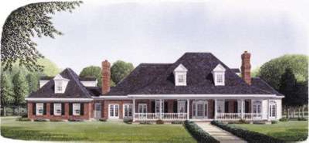southern style house plan 5 beds 4 5 baths 4204 sq ft 11536 | w1024 v 14