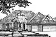 Dream House Plan - European Exterior - Front Elevation Plan #310-527