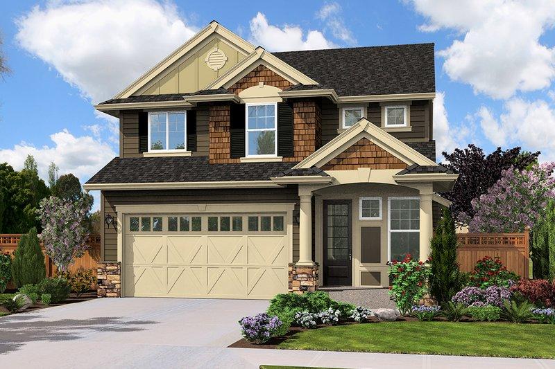 House Plan Design - 1900 square foot Craftsman