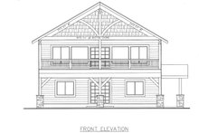House Plan Design - Country Exterior - Front Elevation Plan #117-881