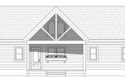 Country Style House Plan - 2 Beds 2 Baths 1830 Sq/Ft Plan #932-35 Exterior - Front Elevation