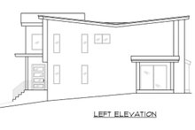 Contemporary Exterior - Other Elevation Plan #1066-81