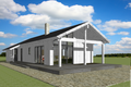 Modern Style House Plan - 2 Beds 1 Baths 1327 Sq/Ft Plan #549-18 Exterior - Front Elevation