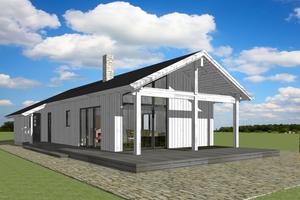 Modern Exterior - Front Elevation Plan #549-18