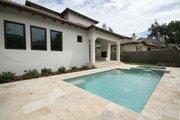 Mediterranean Style House Plan - 4 Beds 4 Baths 2693 Sq/Ft Plan #1058-147 Exterior - Outdoor Living