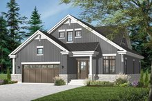 Country Exterior - Front Elevation Plan #23-2243