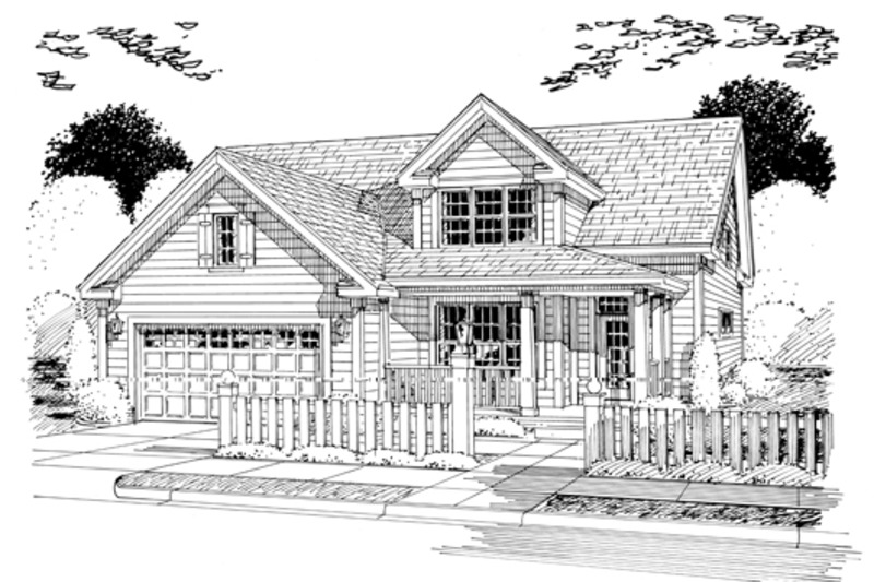 Traditional Exterior - Other Elevation Plan #513-2052 - Houseplans.com