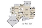 Farmhouse Style House Plan - 3 Beds 2.5 Baths 2504 Sq/Ft Plan #120-255 Floor Plan - Main Floor