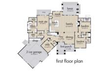 Farmhouse Floor Plan - Main Floor Plan Plan #120-255