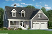 Country Style House Plan - 3 Beds 2.5 Baths 1859 Sq/Ft Plan #929-52 Exterior - Front Elevation