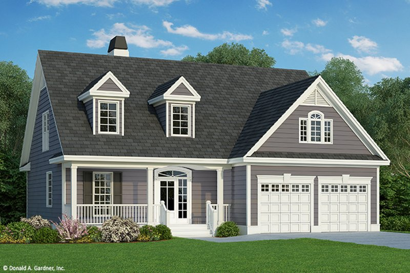 Country Exterior - Front Elevation Plan #929-52 - Houseplans.com