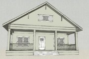 Craftsman Style House Plan - 3 Beds 2.5 Baths 2020 Sq/Ft Plan #461-8 Exterior - Other Elevation