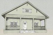 Craftsman Style House Plan - 3 Beds 2.5 Baths 2020 Sq/Ft Plan #461-8