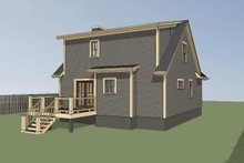 Dream House Plan - Cottage Exterior - Other Elevation Plan #79-155