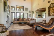 Mediterranean Style House Plan - 4 Beds 4.5 Baths 3474 Sq/Ft Plan #930-276 Interior - Family Room