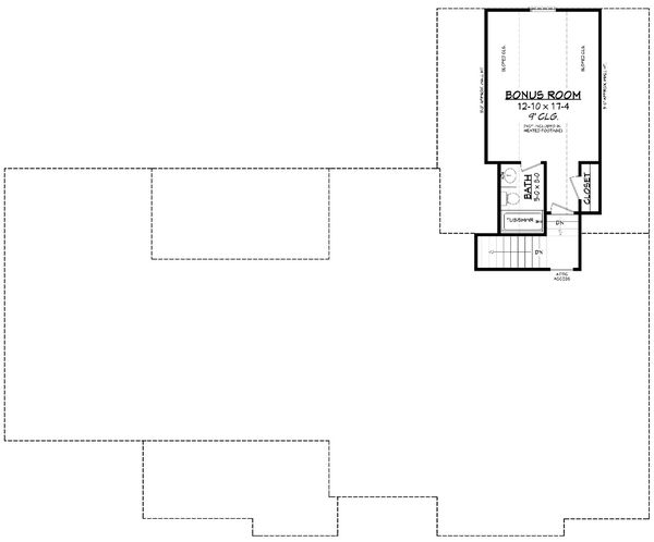Dream House Plan - Farmhouse Floor Plan - Other Floor Plan #430-233