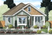 Cottage Style House Plan - 3 Beds 2 Baths 1420 Sq/Ft Plan #513-2092