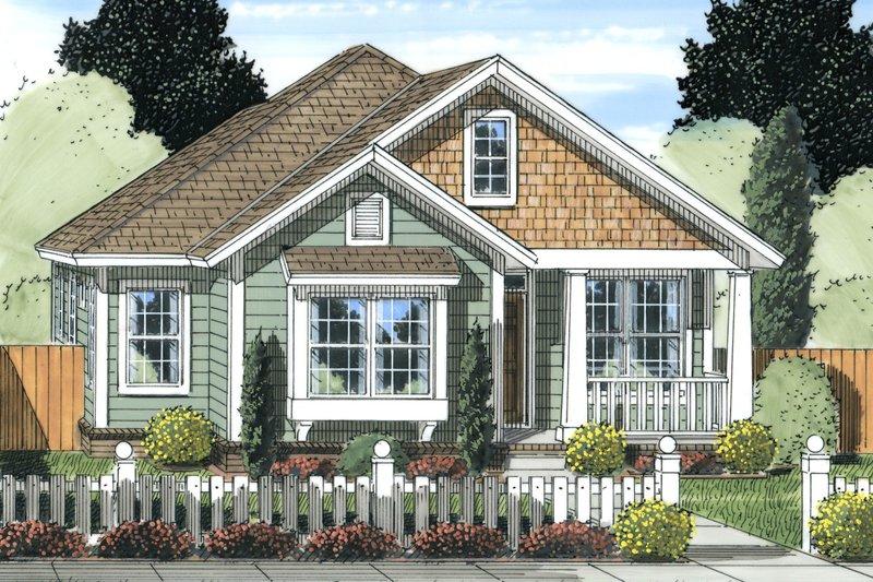 Cottage Exterior - Front Elevation Plan #513-2092 - Houseplans.com