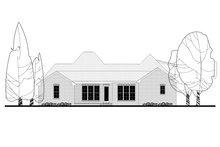 Dream House Plan - European Exterior - Rear Elevation Plan #430-139