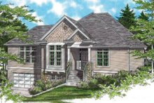 Home Plan - Craftsman Exterior - Other Elevation Plan #48-533