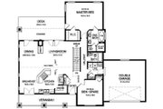 Ranch Style House Plan - 2 Beds 2 Baths 1751 Sq/Ft Plan #126-192 Floor Plan - Main Floor