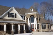 Traditional Style House Plan - 5 Beds 3 Baths 4765 Sq/Ft Plan #119-234 Exterior - Other Elevation