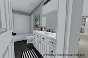 Traditional Style House Plan - 3 Beds 2.5 Baths 2176 Sq/Ft Plan #1060-37 Interior - Bathroom