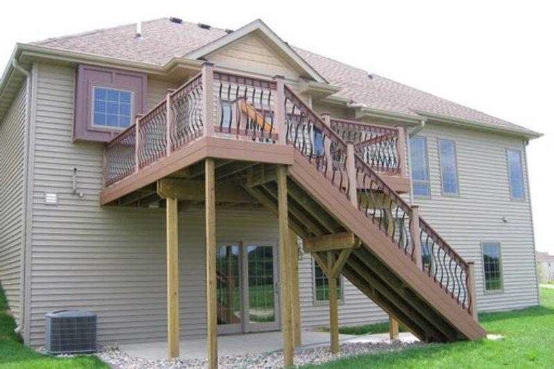 Traditional Exterior - Rear Elevation Plan #20-2123 - Houseplans.com