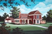 Victorian Style House Plan - 3 Beds 2 Baths 1827 Sq/Ft Plan #45-328 Exterior - Other Elevation