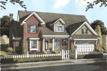 Traditional Exterior - Front Elevation Plan #20-1678