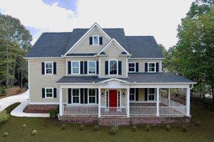 Farmhouse Exterior - Front Elevation Plan #437-92