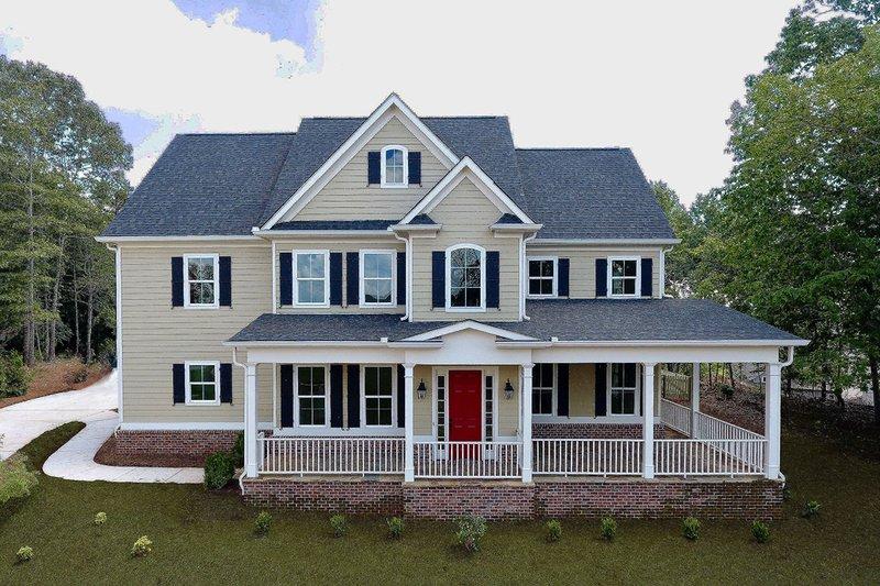 House Design - Farmhouse Exterior - Front Elevation Plan #437-92
