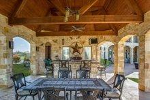 Dream House Plan - European Exterior - Outdoor Living Plan #119-169
