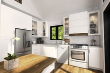Modern Interior - Kitchen Plan #23-602