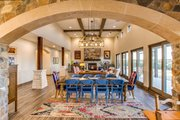 Mediterranean Style House Plan - 4 Beds 4.5 Baths 4185 Sq/Ft Plan #935-4 Interior - Family Room