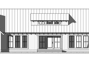 Farmhouse Style House Plan - 4 Beds 4.5 Baths 3946 Sq/Ft Plan #901-145 Exterior - Front Elevation