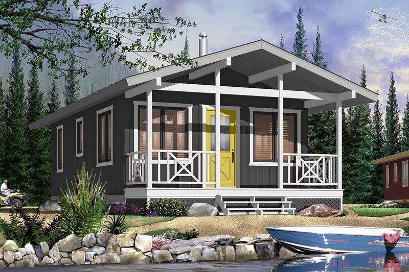 Dream House Plan - Cottage Exterior - Front Elevation Plan #23-2291